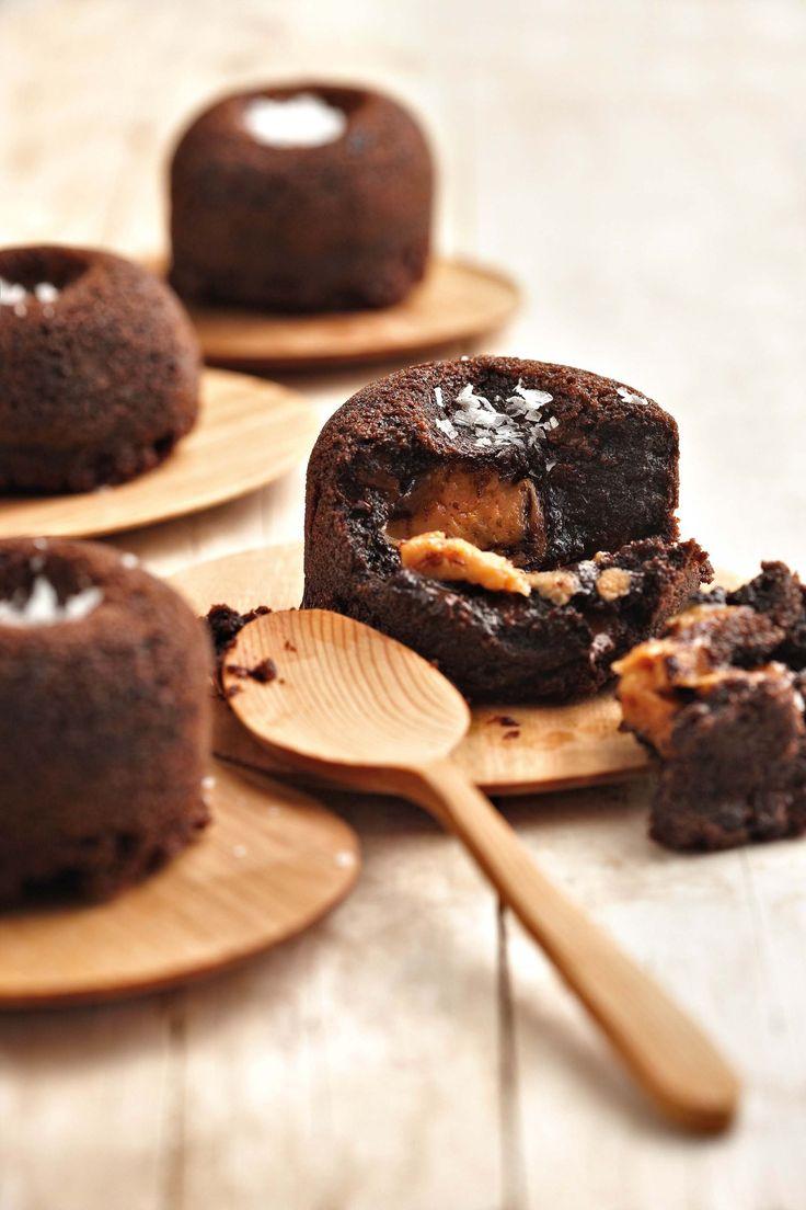 Maklike sjokolade-en-karamelpoeding