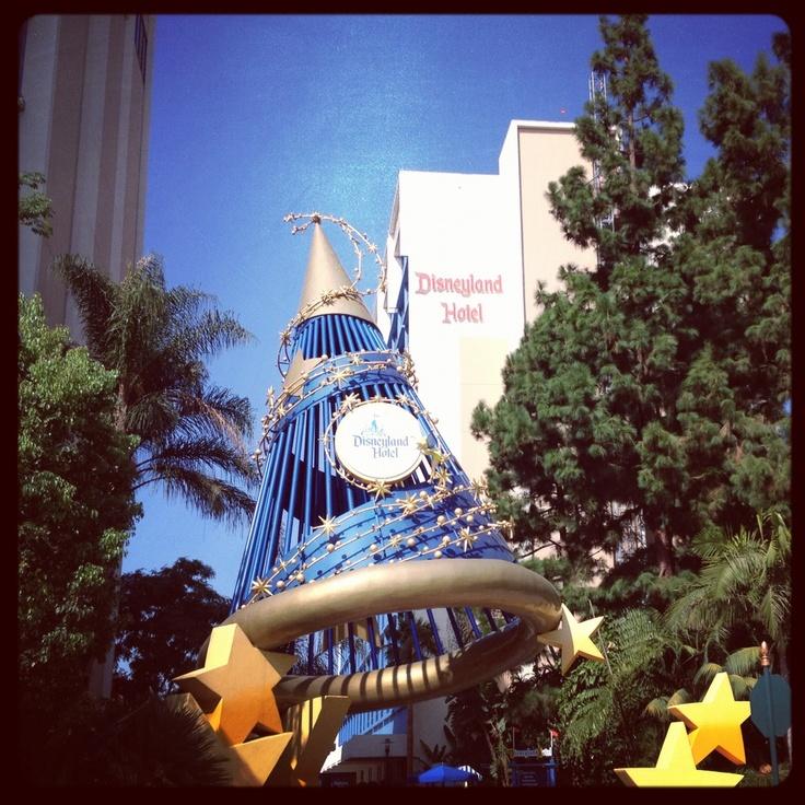 Disneyland Hotel, Anaheim CA