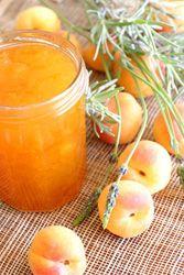 recette Confiture d'abricots à la lavande jus de citrons fleurs de lavande sucre recette confiture et conserve