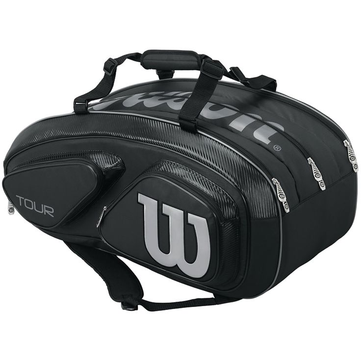 Wilson Tennis Bag- 9 pack. With 2 straps