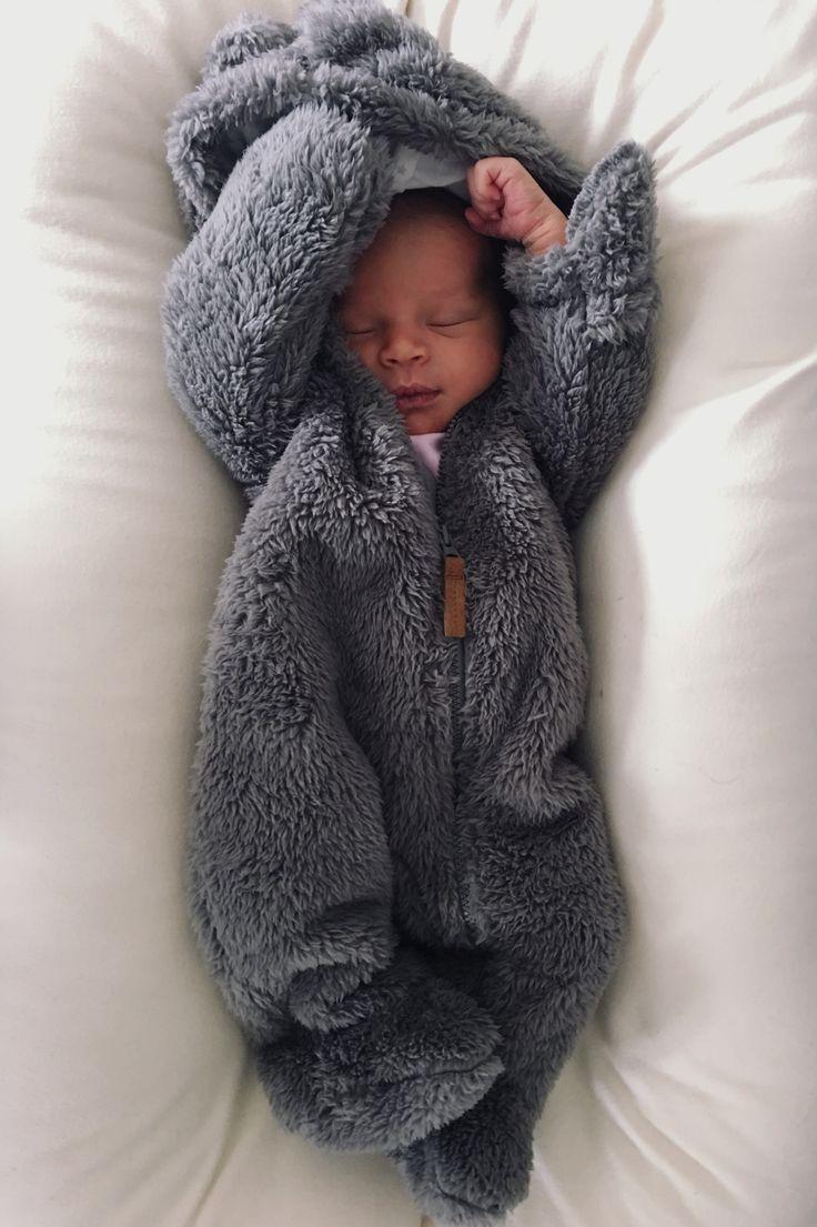 Winterbaby, Schneebaby, Winterbabykleidung, geschl…