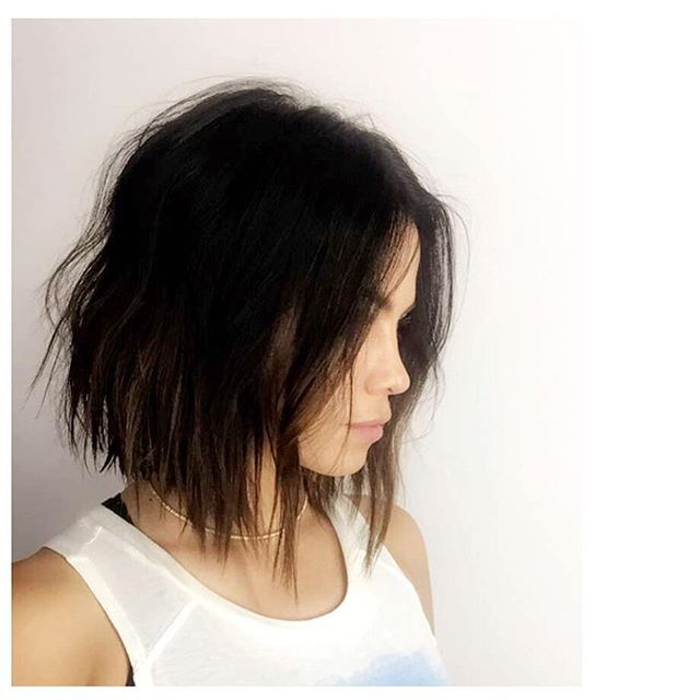 """These Are the Best Celebrity Hair Changes From Instagram So Far Jenna Dewan-Tatum Stylist Jen Atkin showed off client and friend Jenna Dewan-Tatum's new razored, angled bob in a quick snap. """"I just love this woman,"""" she exclaimed."""