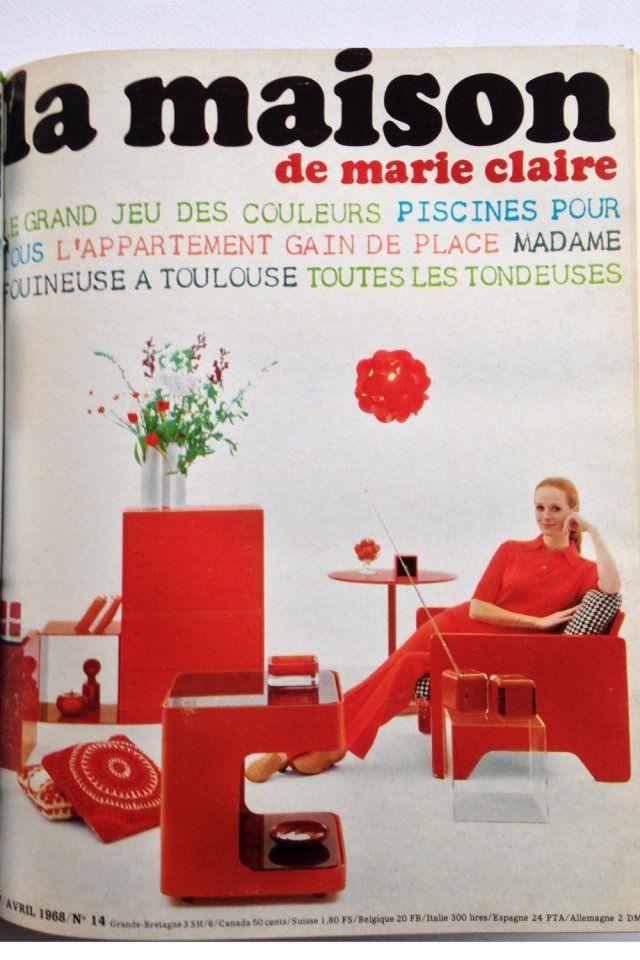 Souvent 22 best Couvertures Marie Claire Maison images on Pinterest  DE08