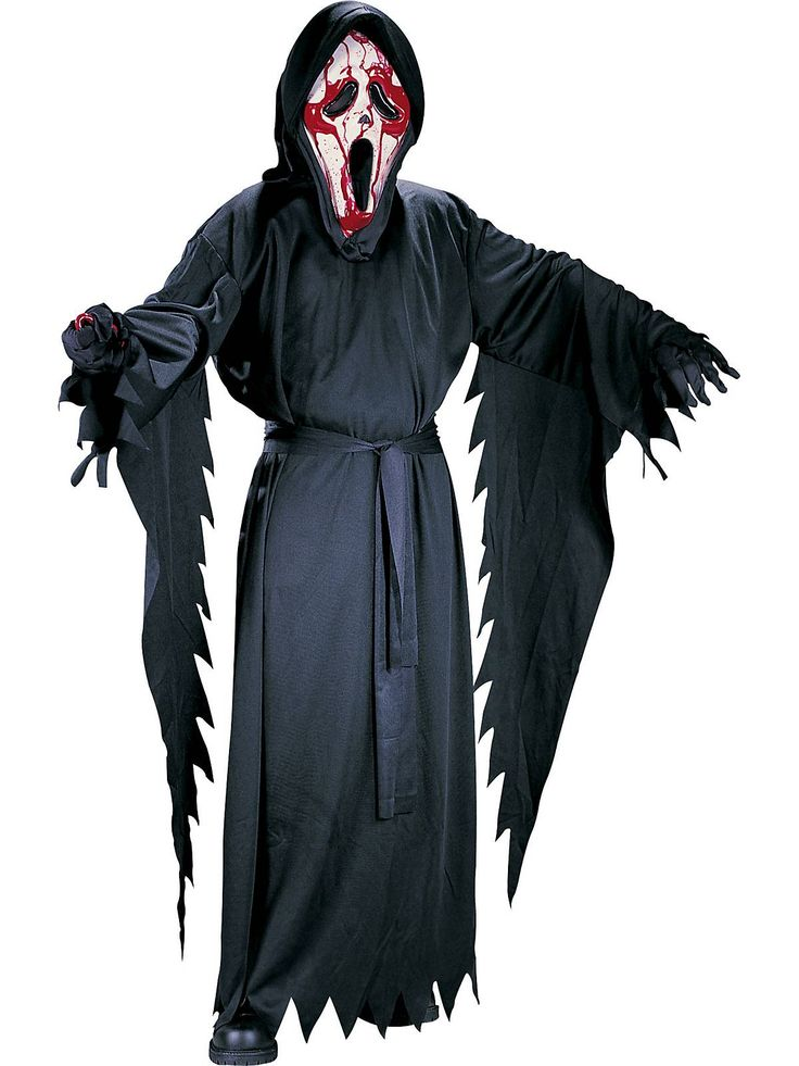 Bleeding Ghost Face Costume | Wholesale Scream Costumes for Boys