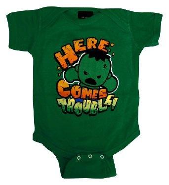 Amazon.com: The Incredible Hulk Avengers Marvel Comics Baby Creeper Romper Snapsuit: Clothing