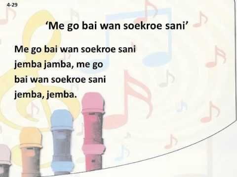 Meer Met Muziek - Groep 4 - 4-29 - Me go bai wan soekroe sani