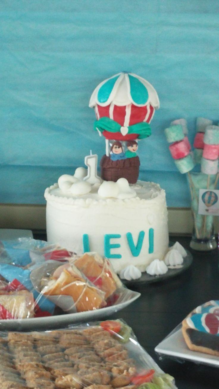Levi 's hotair balloon party