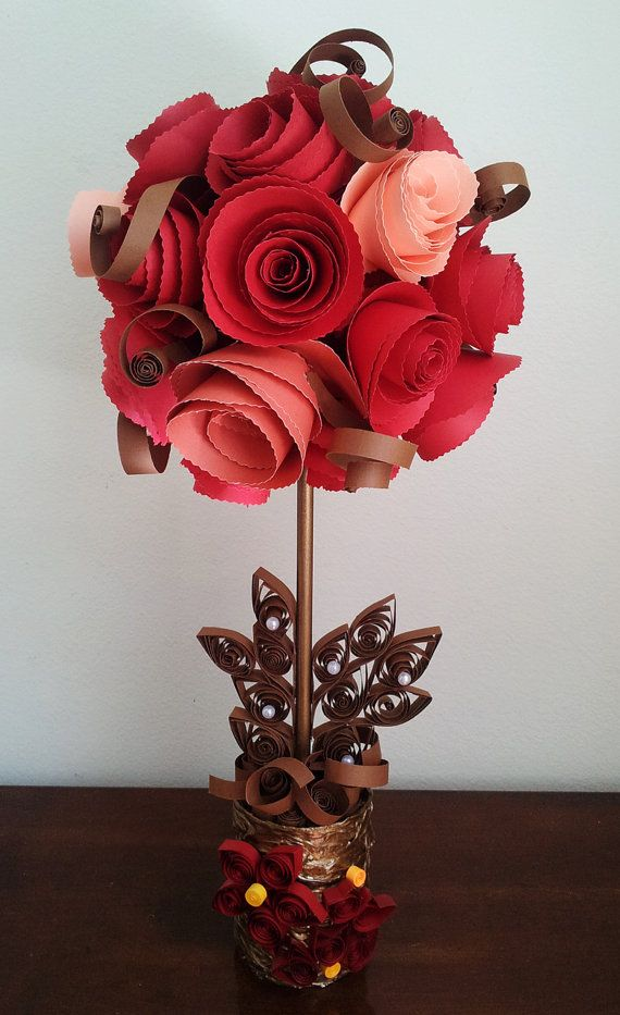Recycled Topiary Floral Bouquet