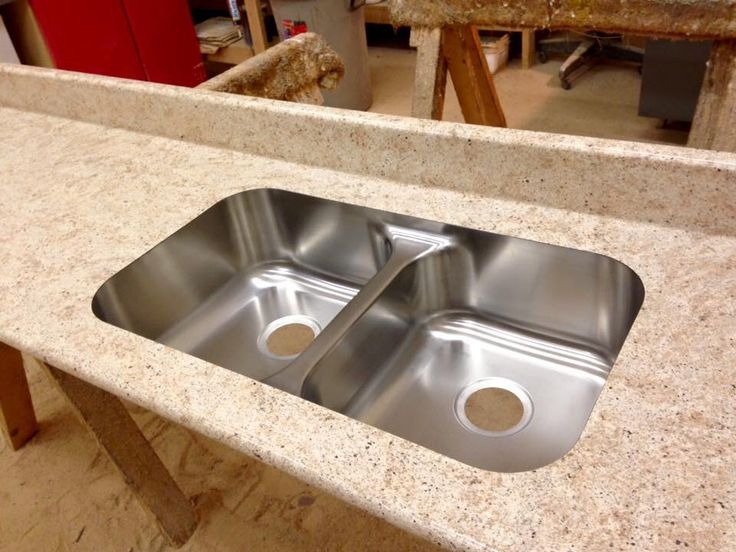 Beautiful Karran Undermount Sink Bullnose Ideal Edge