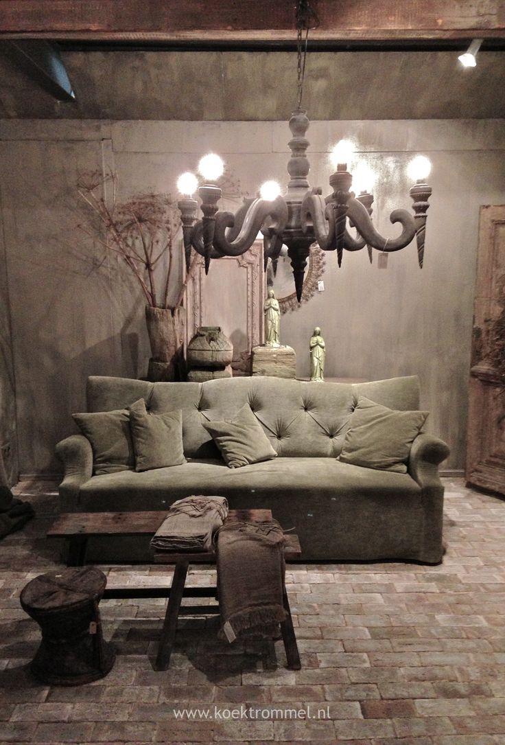 25 beste idee n over rustieke bank op pinterest hal tafel decor bank en bruine kamerinrichting - Rustieke eetkamer decoratie ...
