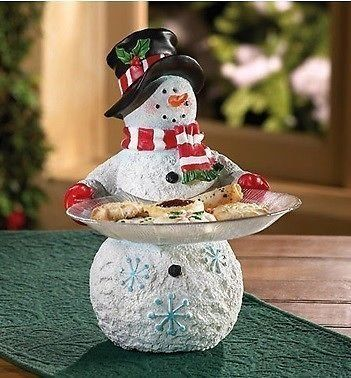 Snowman Serving Tray Christmas Table Decor Christmas 2017.Affiliate link
