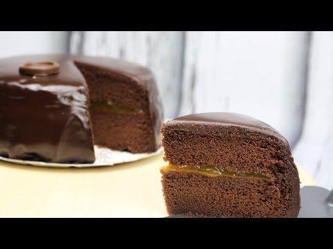 Tarta Sacher | La tarta de chocolate más jugosa y rica del mundo.