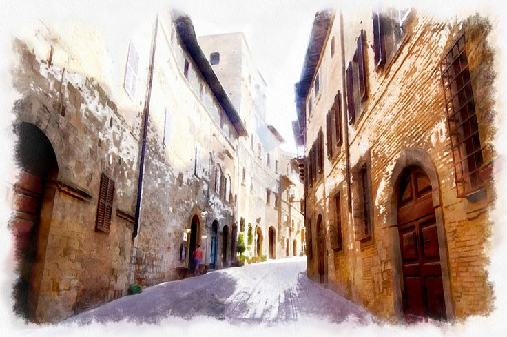 Watercolor from photo with Dynamic Auto Painter for Windows