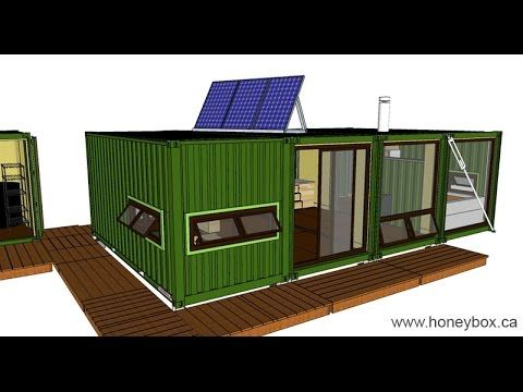 Shipping Container Home   Studio 4four4 Honeybox INC    Http://www.eightynine10studios