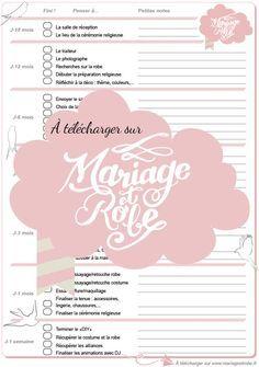rtroplanning mariage imprimer prparation mariage organisation maris planifier mariage - Prparatif Mariage