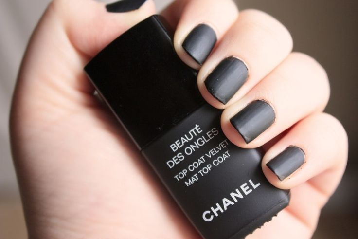 12 best Elegant Matte Black Nail Polish images on Pinterest | Nail ...