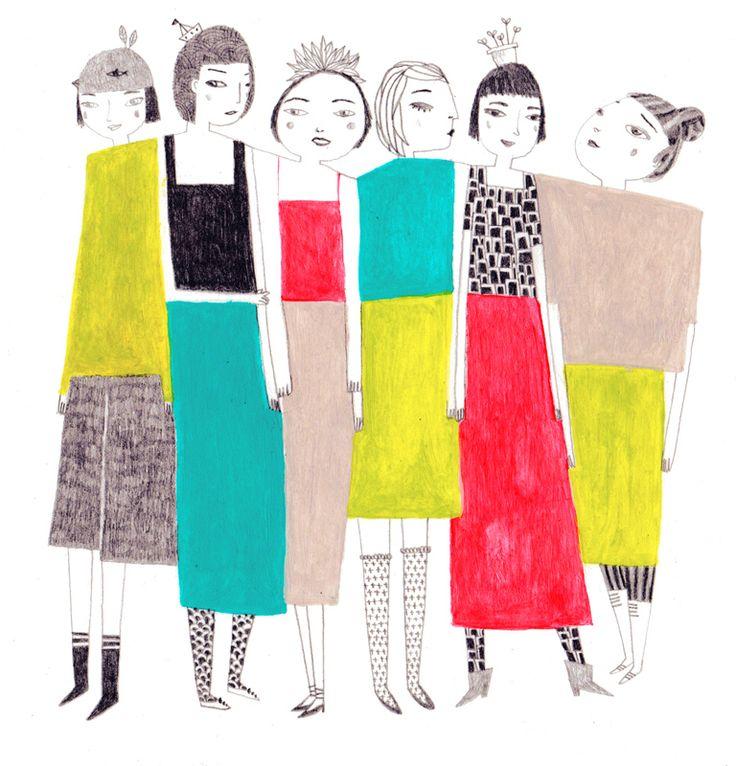 Cool ladies, //SOLENN LARNICOL