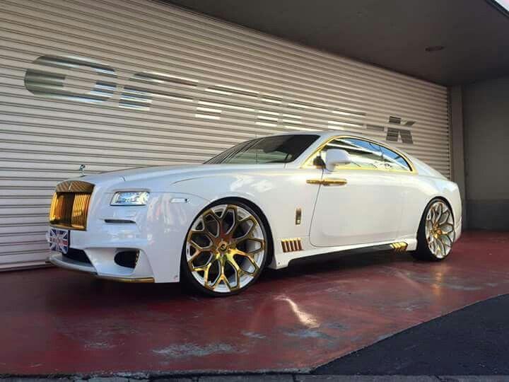 Rolls-Royce Wraith - Pimped.