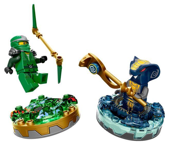 Lego Ninjago Toupies - 9573 - Jeu de Construction - Slithraa: Amazon.fr: Jeux et Jouets