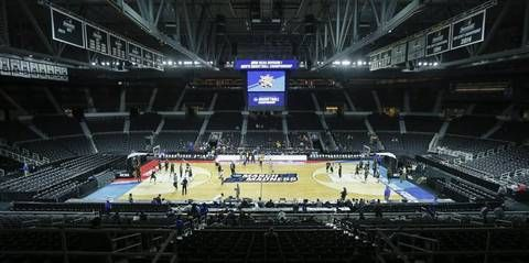 The Dunkin Donuts center in Providence is one of eight first and second round NCAA Tournament locations.