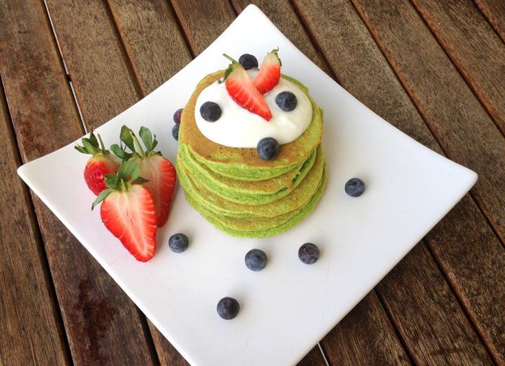 Grønne super-pannekaker // Linda Stuhaug