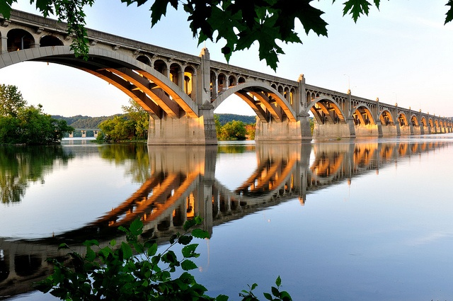 Date = Take a romantic walk across the Susquehanna River Bridge in the morning, the view can't be beat!  Then get breakfast at the local John Wright Restaurant & Store down by the river =)