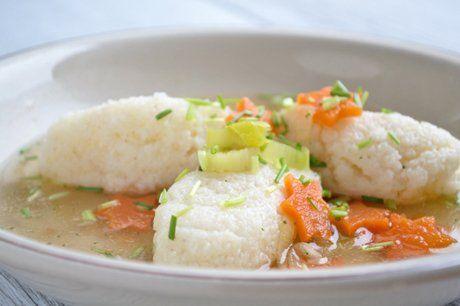 Grießnockerln Suppe - Rezept
