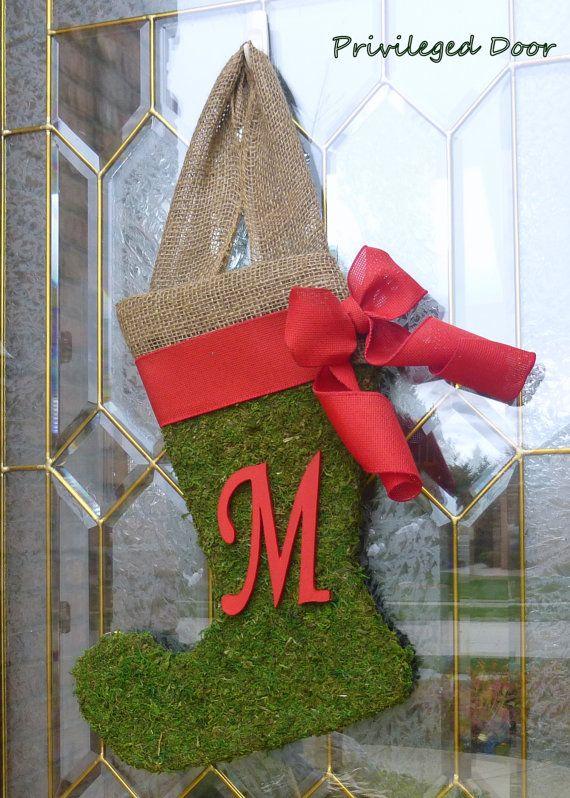 Christmas Wreath  Rustic Christmas Decor  by PrivilegedDoor, $49.00