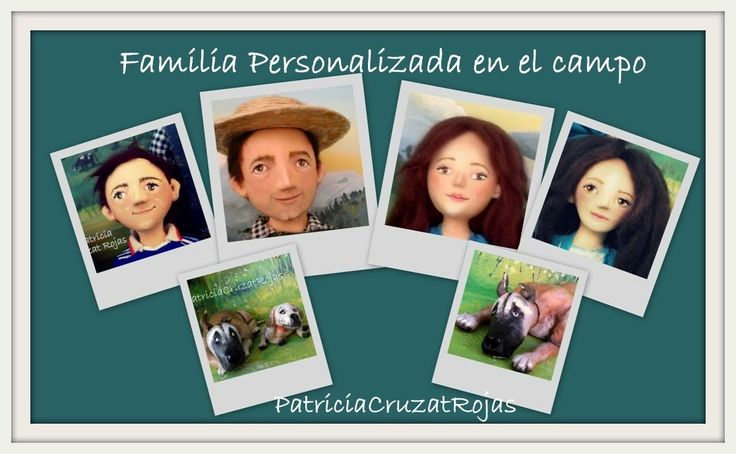 Patricia Cruzat Artesania y Color: Familia