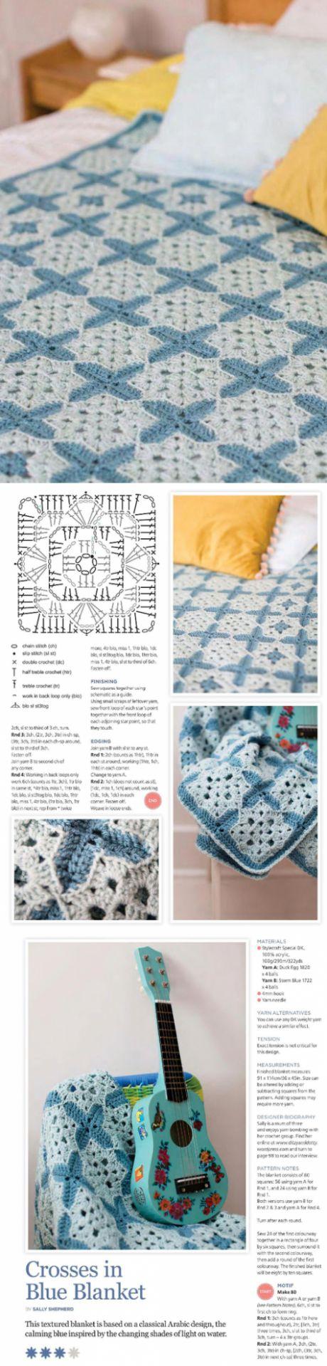 Голубое покрывало-одеяло