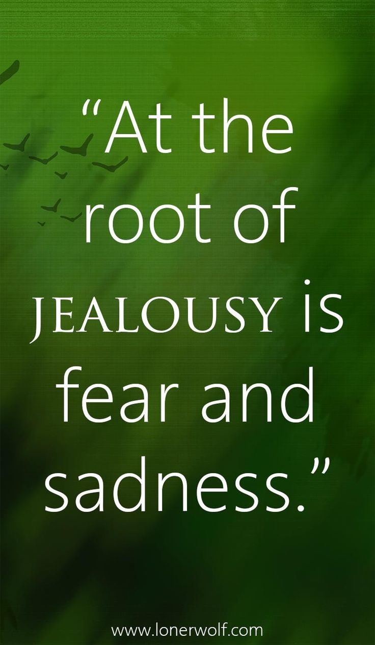 jealousy and insecurity is ruining my relationship