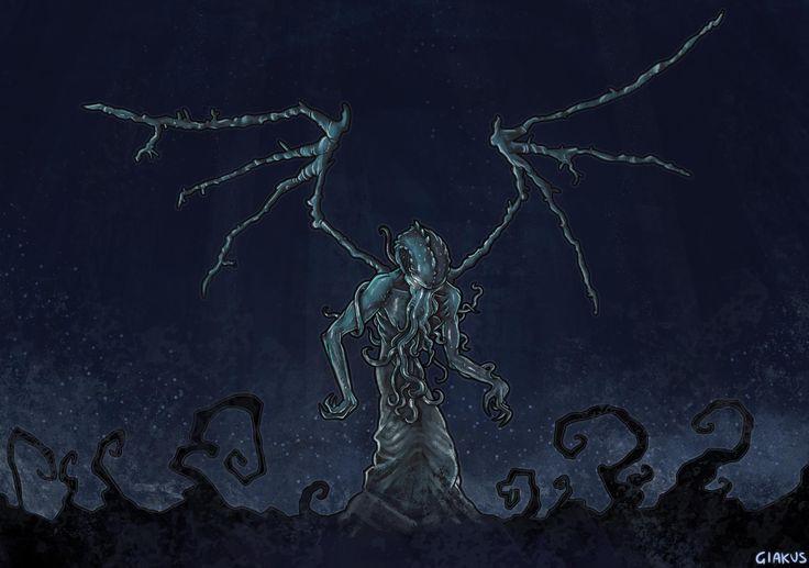 Giacomo Carruolo - Cthulhu illustration - #vaffancthulhu #MassoneriaCreativa - www.massoneriacreativa.com