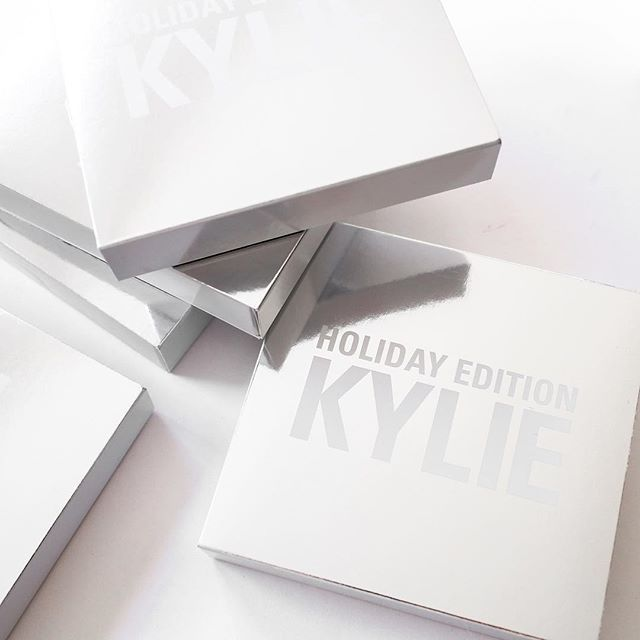 @kyliecosmetics: The #HolidayEdition COLLECTION is here!!! Who's watching Kylie's snapchat? She is still revealing more! Let's get into the holiday spirit ☃ launching NEXT WEEK MONDAY @ 1pm pst with FREE DOMESTIC SHIPPING on the first day to say happy holidays from Kylie Cosmetics to you!!!!!!