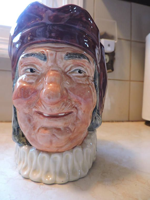 Simon the Cellarer Handle Royal Doulton Character Toby Large