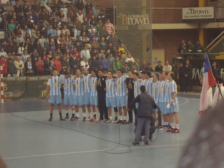 Argentina 23 - Chile 23  Panamericano Buenos Aires 2012