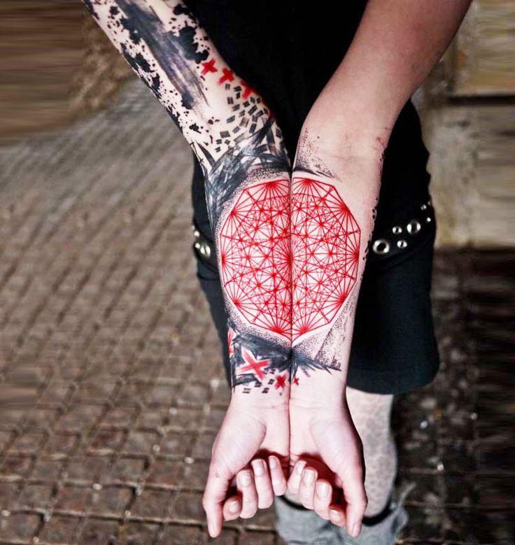 Geometricals by Jubsss Predator James tattoo 2016 | Visit http://www.omnipopmag.com/main For More!!! #Omnipop #Omnipopmag