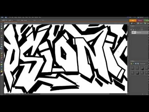 how to add graffiti to a wall in photoshop
