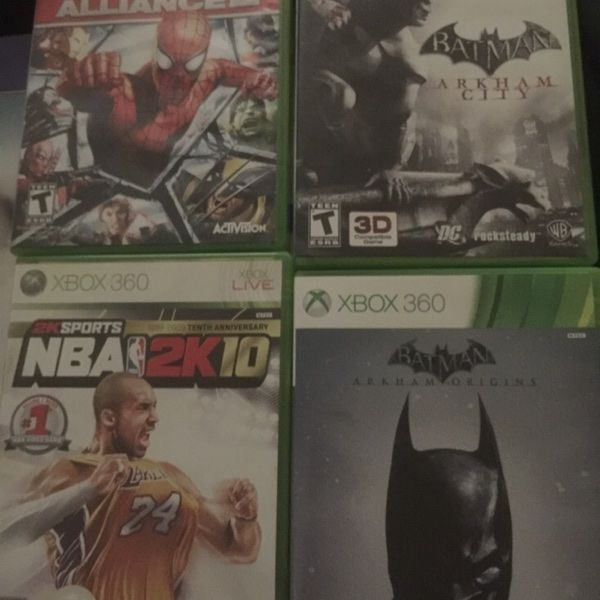 For Sale: Xbox 360 Games  for $5