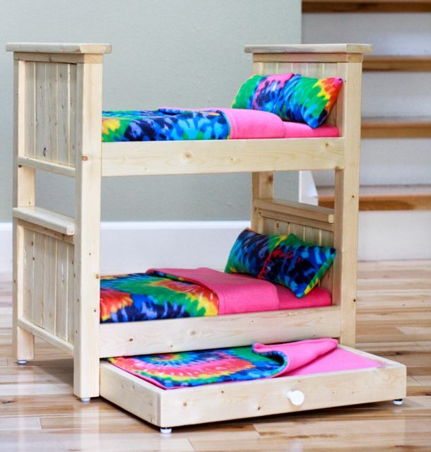 Farmhouse Doll Beds   Do It Yourself Home Projects from Ana White