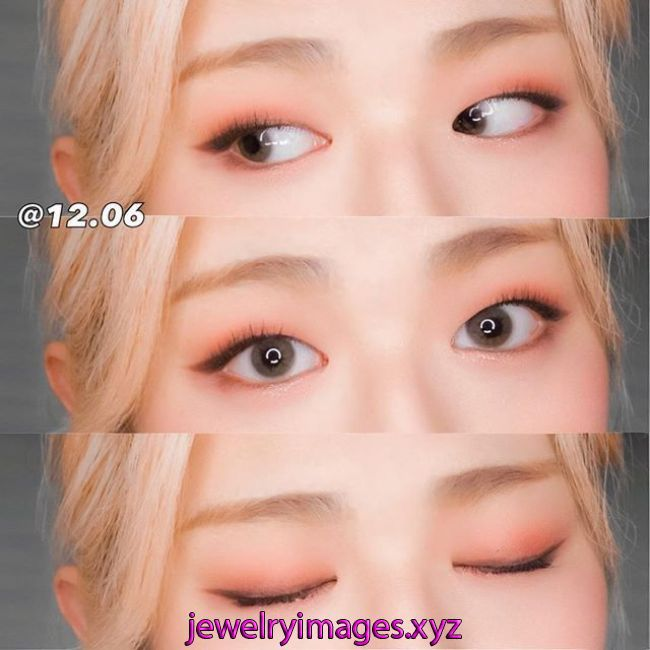化粧 化粧 | Korean eye makeup, Monolid eye makeup, Asian eye makeup