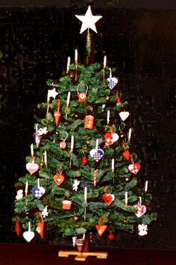 Danish Christmas tree - Glædelig Jul !!