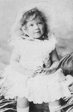 Ivy Compton-Burnett as a child