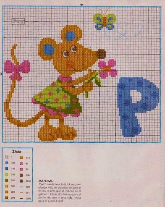 Χειροτεχνήματα: Όμορφα σχέδια για παιδικά κεντήματα / Lovely children cross stitch patterns