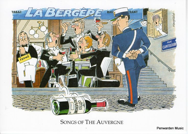 Joan Butler Classics Greeting Card - Songs of the Auvergne