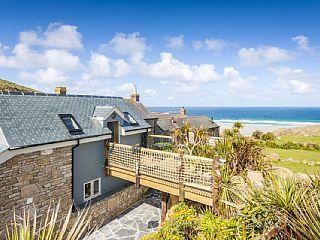 Boutique+Landhaus+in+toller+Lage,+nur+250m+vom+Strand+entfernt,+mit+tollen+Aussichten+aufs+Meer.+++Ferienhaus in South West Cornwall von @homeaway! #vacation #rental #travel #homeaway