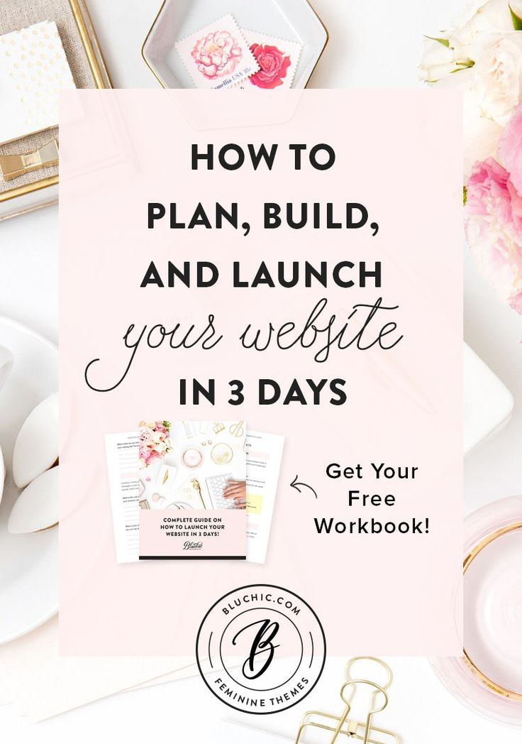 How to plan, build, launch your WordPress website in 3 days. Get the free workbook!