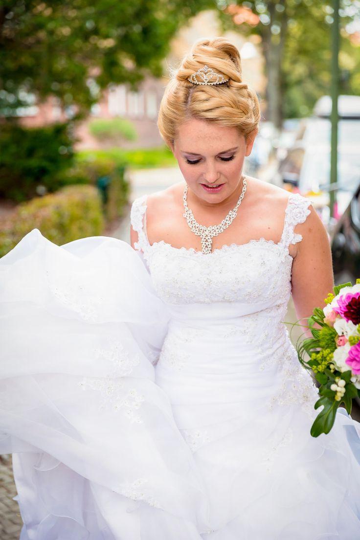 wedding make-up, focus auf den augen künstliche wimpern, make-up, bridal make-up