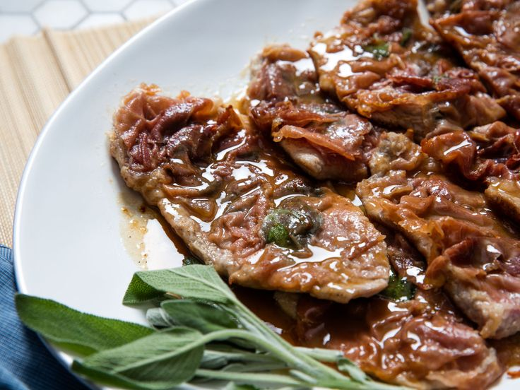 Veal saltimbocca, a Roman specialty, is a simple dish of sautéed veal cutlets, layered with prosciutto and fresh sage, and served with a buttery, lemony pan sauce. It's quick and easy to make, but to make it truly great, you have to pay attention to the details.