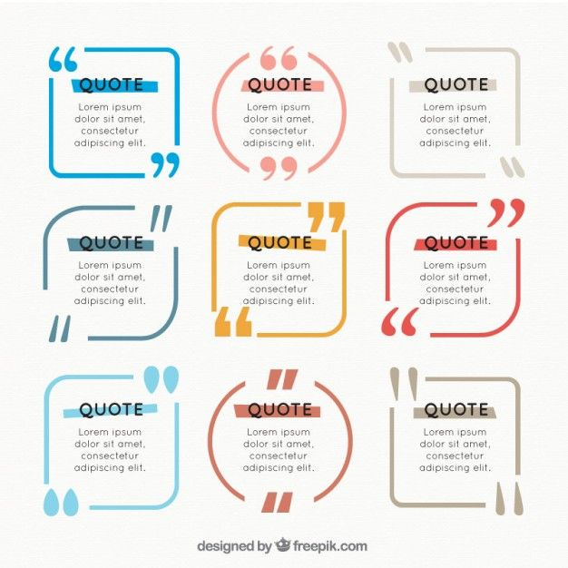15 best Quote Templates images on Pinterest Graphics, Role models - graphic design quote template