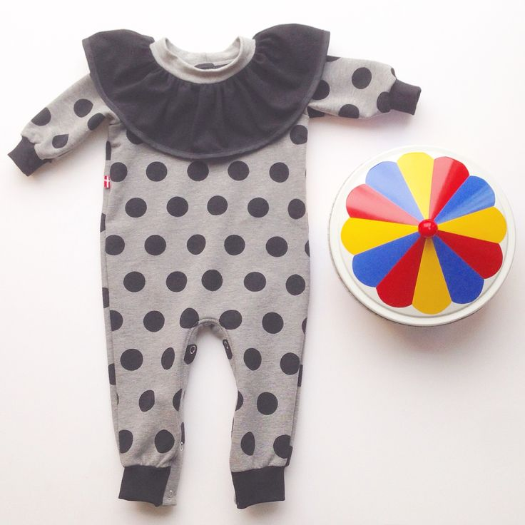 my clown baby body. Love making playful suits for babies. -Line Hvass